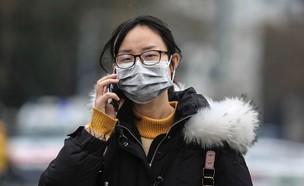חשש מהווירוס החדש בסין (צילום: skynews)