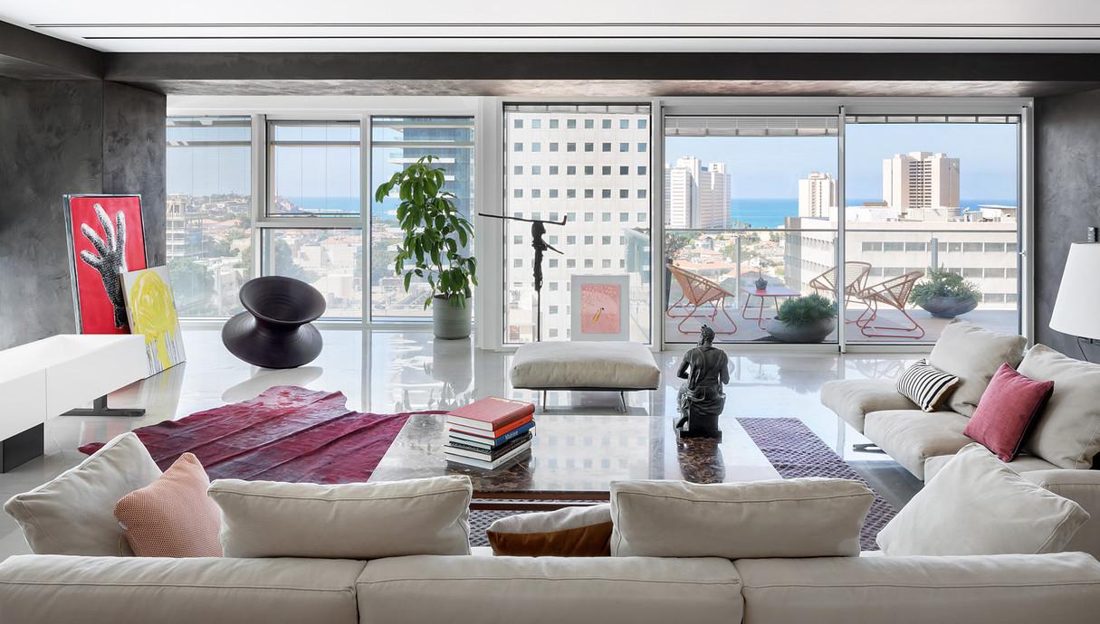 דירה בתל אביב, עיצוב הילה חבקין - 4