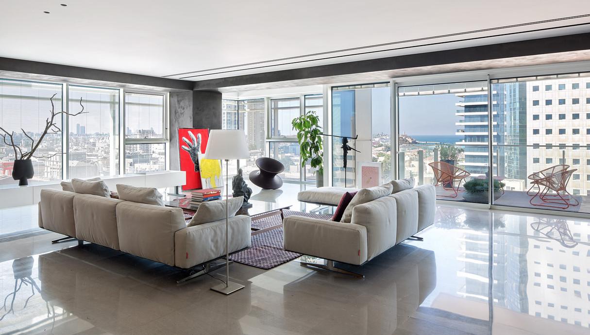 דירה בתל אביב, עיצוב הילה חבקין - 5