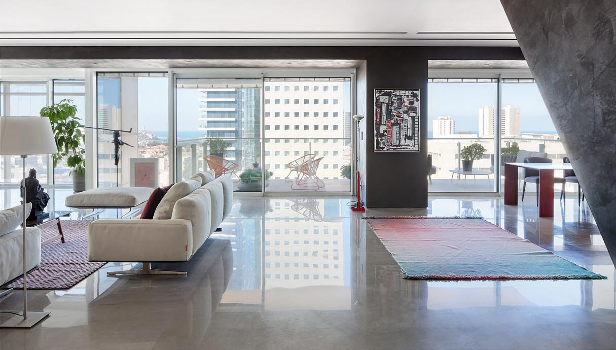 דירה בתל אביב, עיצוב הילה חבקין - 6