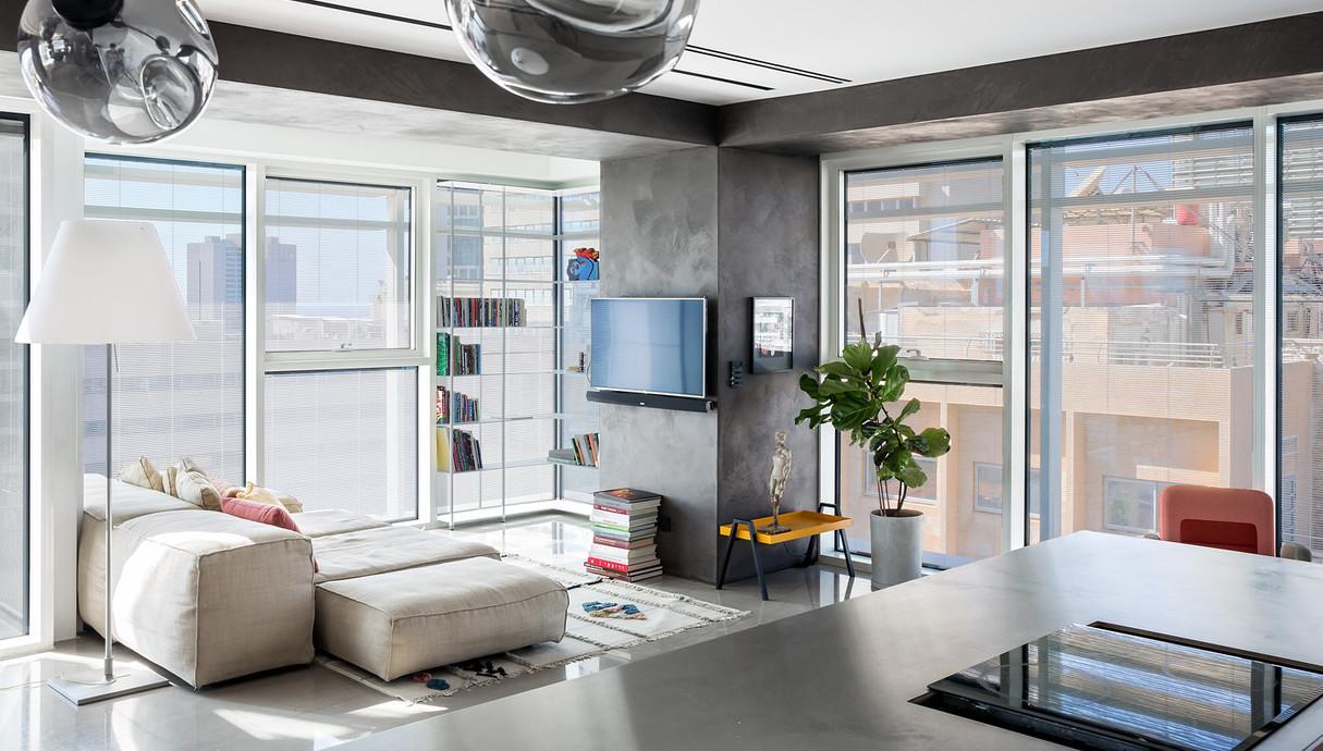 דירה בתל אביב, עיצוב הילה חבקין - 16