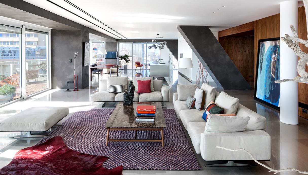 דירה בתל אביב, עיצוב הילה חבקין - 17