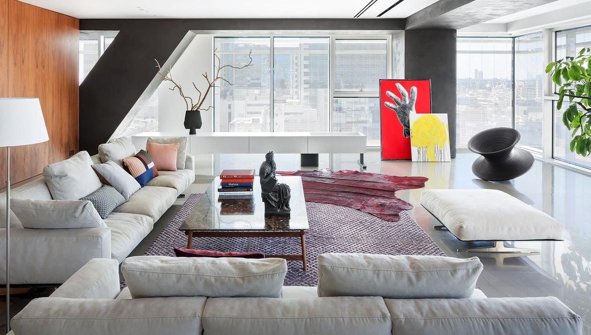 דירה בתל אביב, עיצוב הילה חבקין - 3