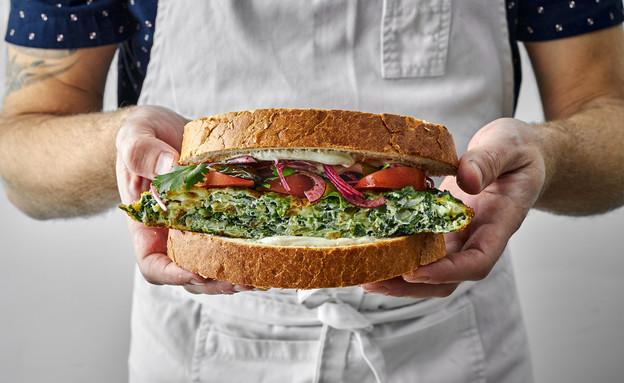 סנדוויץ' פועלים (צילום: אמיר מנחם, אוכל טוב)