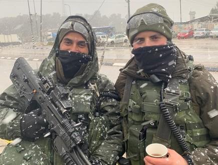 חיילים בחטמ״ר עציון