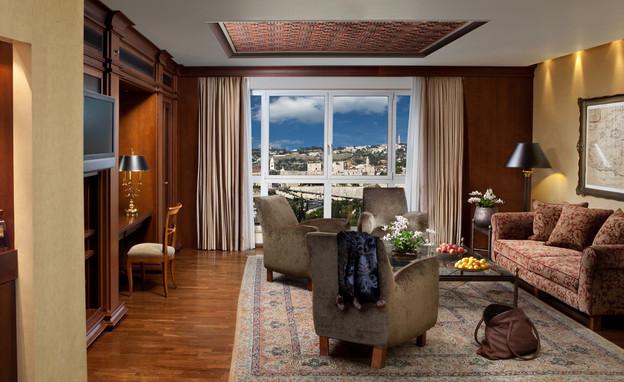 משלחות ירושלים, סלון בסוויטה הנשיאותית במלון המלך דוד