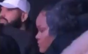 ריהאנה ודרייק נתפסו במועדון (צילום: מתוך עמוד הטוויטר: popcurve)