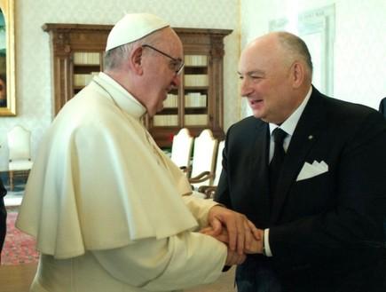 משה קנטור והאפיפיור