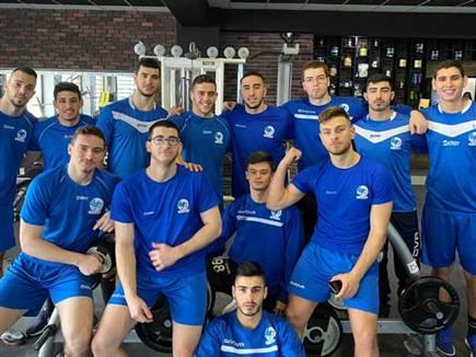 שחקני הנבחרת בסרביה (באדיבות איגוד הכדוריד)