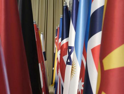 הכנות בבית הנשיא לקראת הגעת מנהיגי העולם לפורום הש