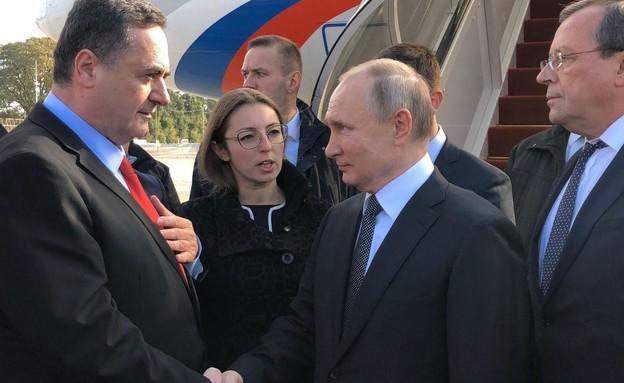 נשיא רוסיה ולדימיר פוטין בנתב