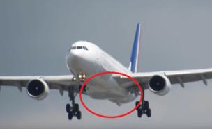 המטוס (צילום: Mark Brandon@Youtube)
