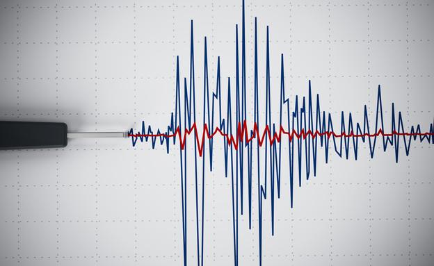 רעידת אדמה (אילוסטרציה: 123RF)