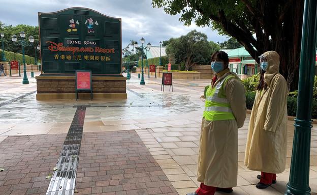 דיסנילנד בהונג קונג נסגר למבקרים בגלל נגיף הקורונה