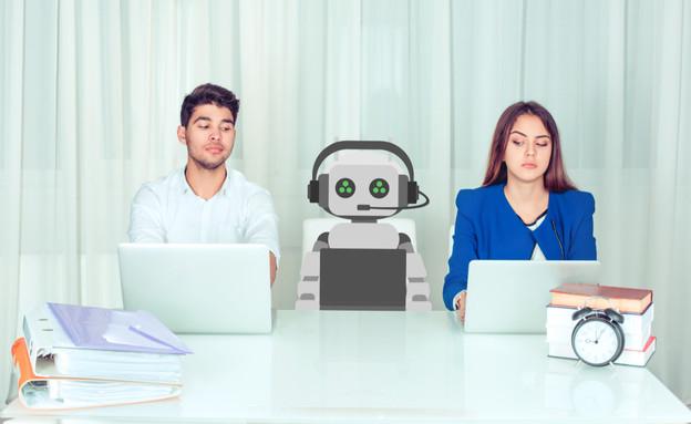 עבודה עם רובוטים (צילום: HBRH, shutterstock)