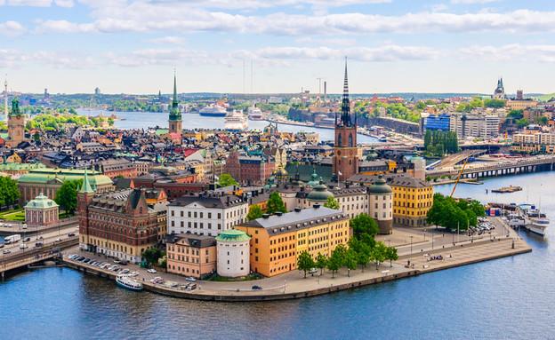 שטוקהולם, שוודיה (צילום: Andrey Shcherbukhin, shutterstock)