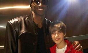 קובי בראיינט, ג'סטין ביבר (צילום: Justin Bieber's instagram)