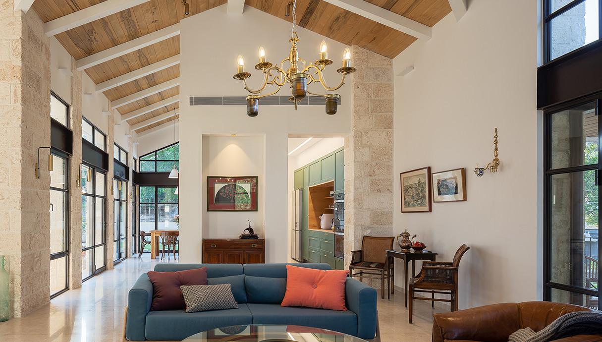 בית באלוני אבא, עיצוב לנגר שקורי אדריכלות - 2