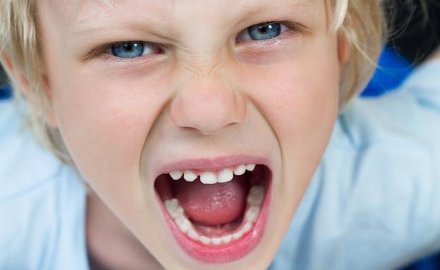 ילד כועס  (צילום: MelleV, shutterstock)