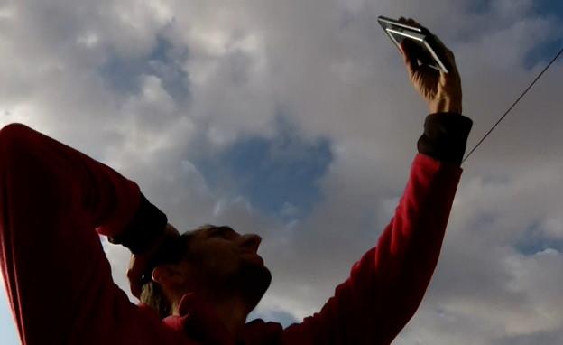 הישראלים שמתגוררים באזורים ללא קליטה סלולרית (צילום: החדשות 12)