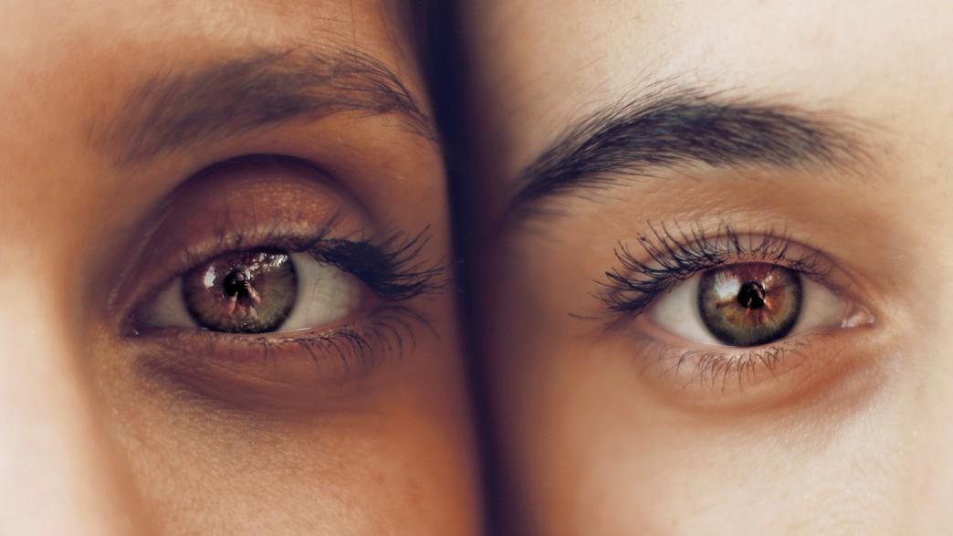 קלוז אפ עיניים נשים (צילום:  none)