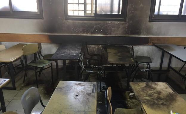 חשד לפשע שנאה בבית ספר יסודי בעינאבוס
