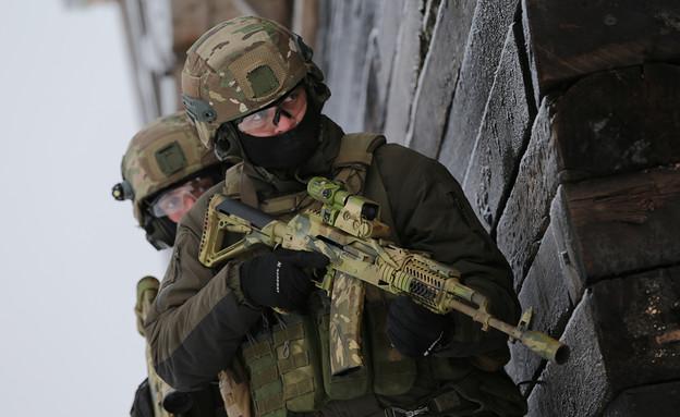 כוח מיוחד (צילום: משרד ההגנה הרוסי, wikimedia)