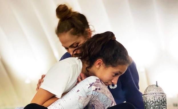 ג'ניפר לופז ובתה (צילום: מהאינסטגרם של ג'ניפר לופז)