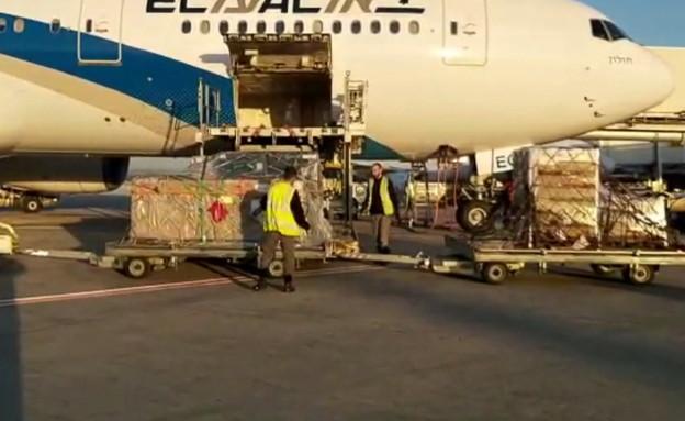אחת ממטוס ייצוא הקנאביס - הכתבה של יואב (צילום: החדשות 12)