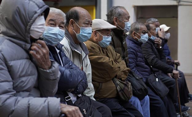 נגיף הקורונה בסין (צילום: Sakchai Lalit | AP)