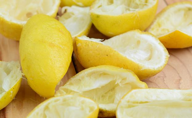 קליפות לימון (צילום:  laolaopui, shutterstock)