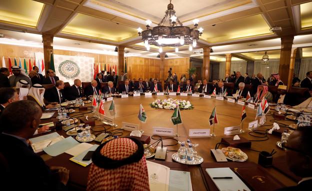 פגישת שרי החוץ של הליגה הערבית בקהיר (צילום: רויטרס)