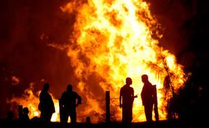פיצוץ צינור הגז בין ישראל למצרים (צילום: רויטרס)