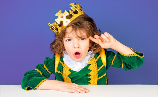 ילד מחופש למלך