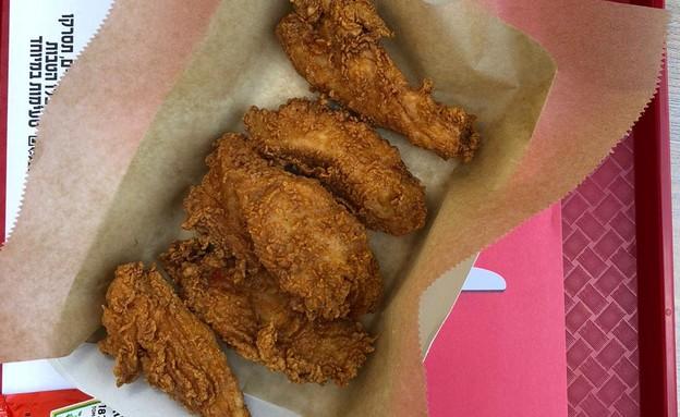 מנת הסטרייפס, KFC (צילום: ריטה גולדשטיין, אוכל טוב)