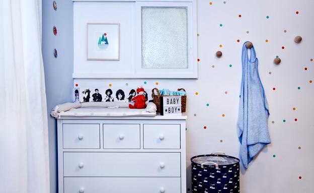 חדרי תינוקות, מס' 1, עיצוב נעמה אטדגי (צילום: יונתן תמיר)