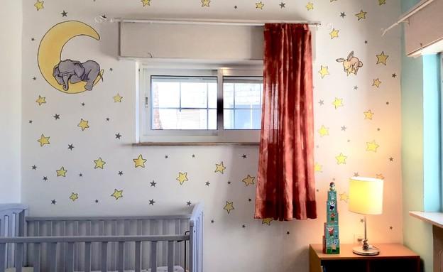 חדרי תינוקות, מס' 5, איור אבישי לוי, עיצוב מרב בנר (צילום: אבישי לוי)