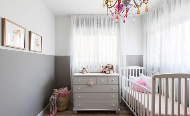 חדרי תינוקות, מס' 6, עיצוב קרן גרוס - 1 (צילום: שירן כרמל)