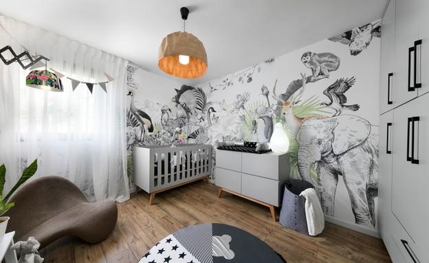 חדרי תינוקות, מס' 8, עיצוב ליעד יוסף (צילום: אלעד גונן)