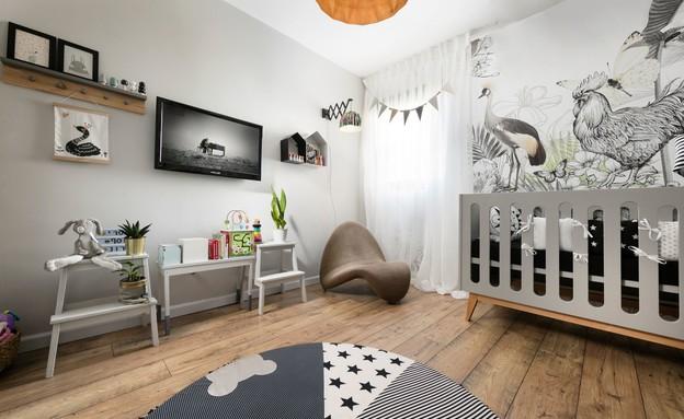 חדרי תינוקות, מס' 9, עיצוב ליעד יוסף (צילום: אלעד גונן)