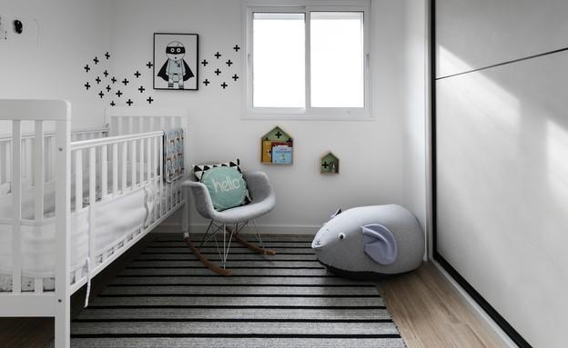 חדרי תינוקות, מס' 14, עיצוב ענבל ברקוביץ (צילום: אלעד גונן)