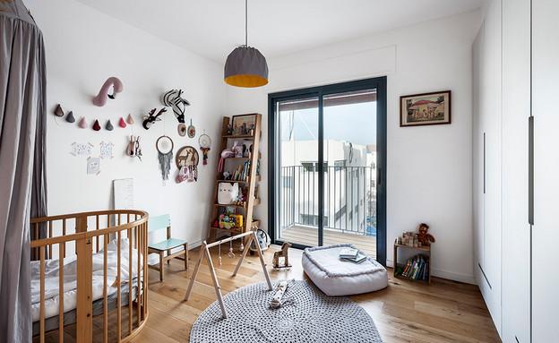 חדרי תינוקות, מס' 20, עיצוב הלל אדריכלות (צילום: עודד סמדר)