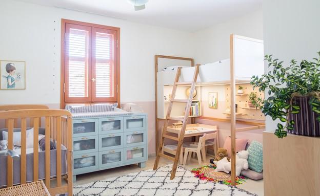 חדרי תינוקות, מס' 21, עיצוב מיכל וולפסון (צילום: דנה סטמפלר עשהאל)