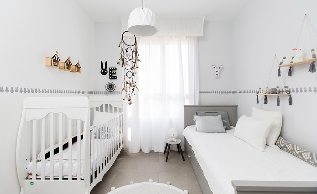 חדרי תינוקות, מס' 23, עיצוב אורנה מזור (צילום: שירן כרמל)