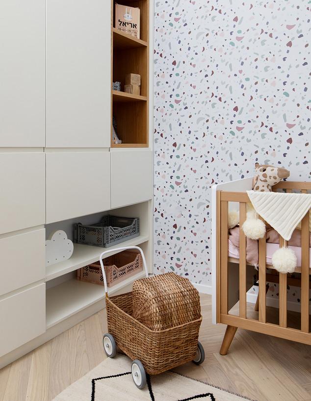 חדרי תינוקות, ג, מס' 12, עיצוב דקלה גלזר (צילום: שירן כרמל)