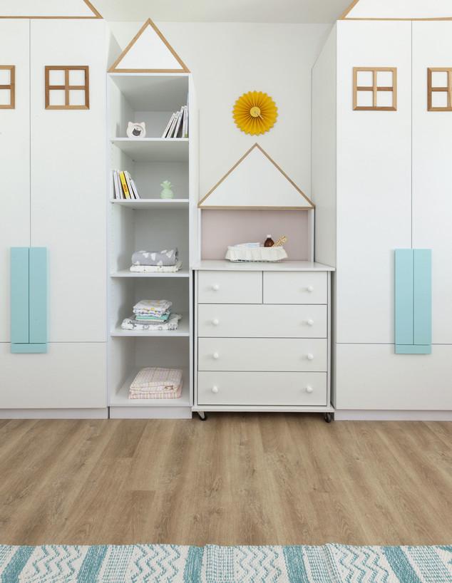 חדרי תינוקות, ג, מס' 13, עיצוב אריאלה ענבר (צילום: הגר דופלט)