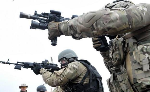 כוח FSB (צילום: RedMiku627@Twitter)