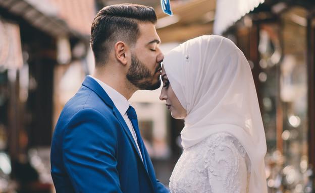 חתונה מוסלמית (צילום: shutterstock)