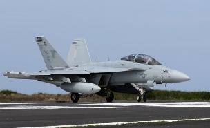 F-18 Growler (צילום: Ken Ishii / Stringer, GettyImages)