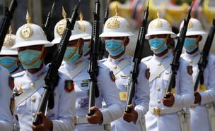 ההיערכות לנגיף הקורונה שמתפשט בתאילנד (צילום: רויטרס)